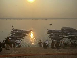 インドのガンジス川