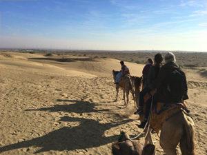 ジャイサルメールの砂漠