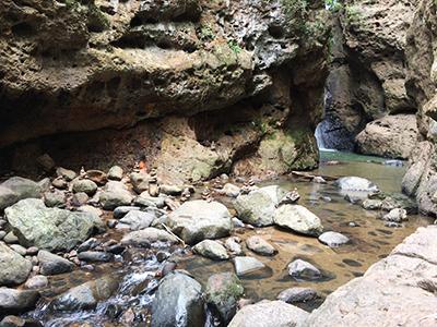 パンボック滝