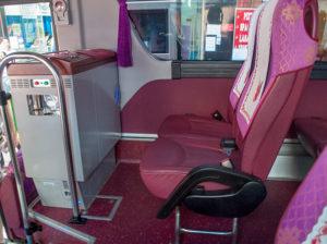 バスのシート