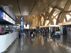 昆明の空港