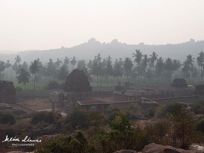 ハンピの古代遺跡