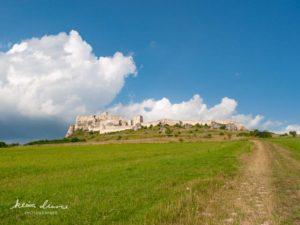 お城への道のり