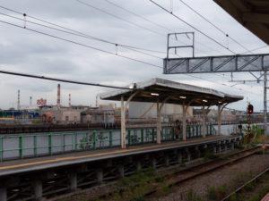 新芝浦駅のプラットフォーム