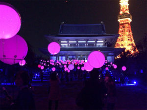 イベント当日の増上寺