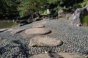 皇居内の石畳